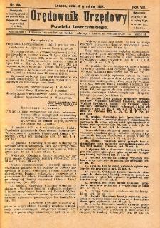 Orędownik Urzędowy Powiatu Leszczyńskiego 1927.12.13 R.8 Nr 60