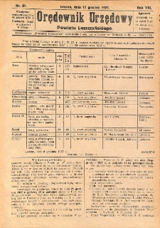 Orędownik Urzędowy Powiatu Leszczyńskiego 1927.12.17 R.8 Nr 61