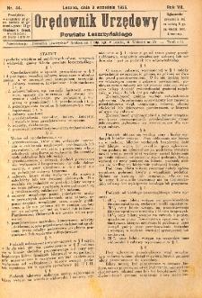 Orędownik Urzędowy Powiatu Leszczyńskiego 1926.09.08 R.7 Nr 44