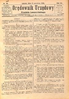 Orędownik Urzędowy Powiatu Leszczyńskiego 1926.09.11 R.7 Nr 45
