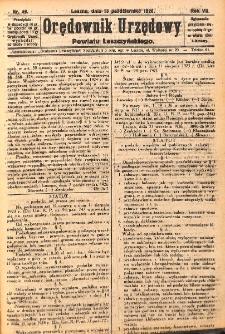 Orędownik Urzędowy Powiatu Leszczyńskiego 1926.10.13 R.7 Nr 49
