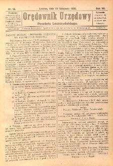 Orędownik Urzędowy Powiatu Leszczyńskiego 1926.11.10 R.7 Nr 56
