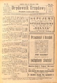 Orędownik Urzędowy Powiatu Leszczyńskiego 1926.11.20 R.7 Nr 59