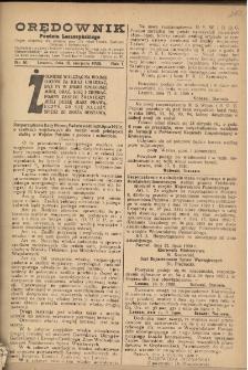 Orędownik Powiatu Leszczyńskiego 1920.08.18 R.1 Nr 61