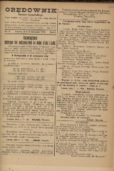 Orędownik Powiatu Leszczyńskiego 1920.11.06 R.1 Nr 81